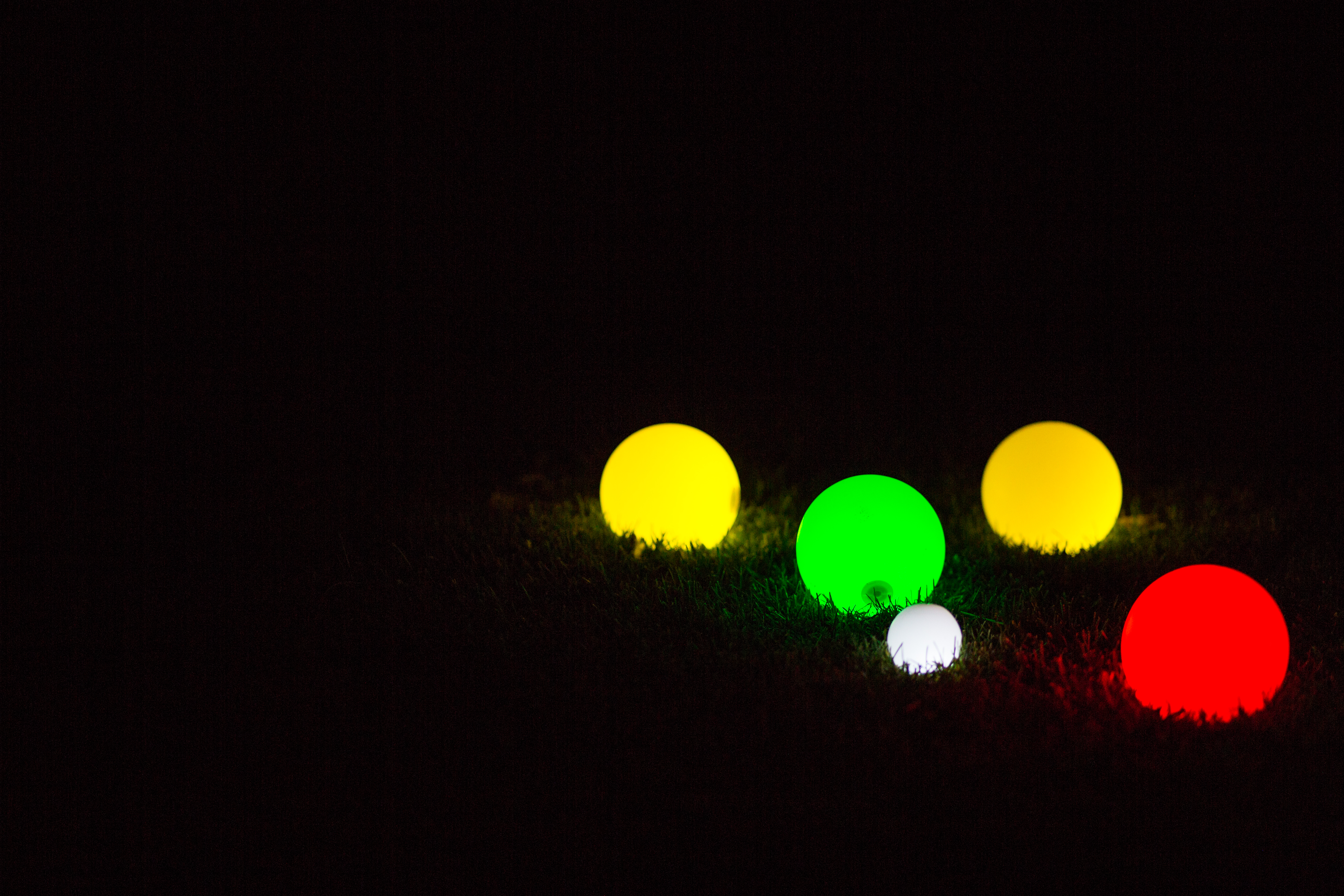 Glow in the Dark Bocce Ball