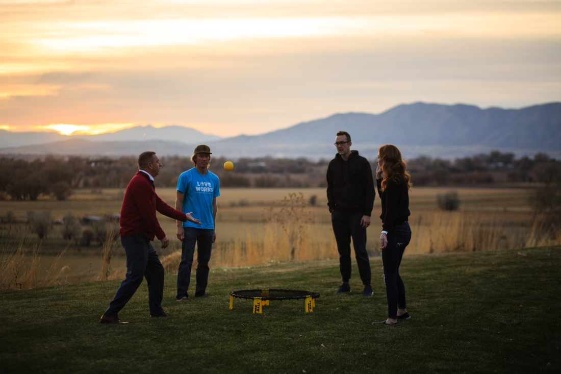 Spikeball with a View