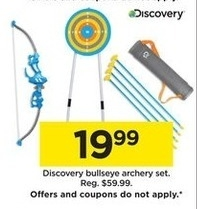 Archery @ Kohls  - Black Friday