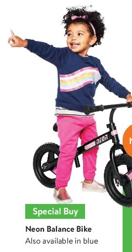 Balance Bike @ Walmart  - Black Friday