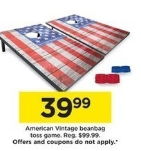 Corn Hole @ Kohls  - Black Friday