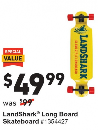 Longboard @ Lowe's  - Black Friday