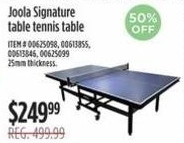 Ping Pong Table @ Sears  - Black Friday