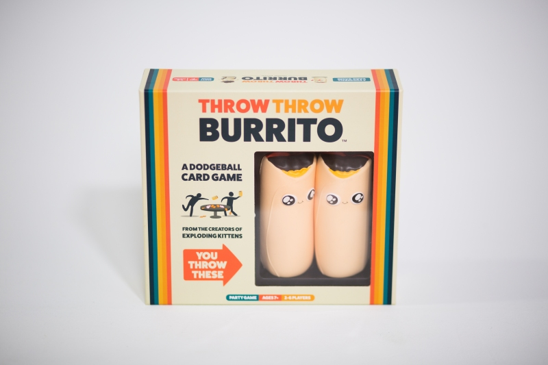 Box for Throw Throw Burrito